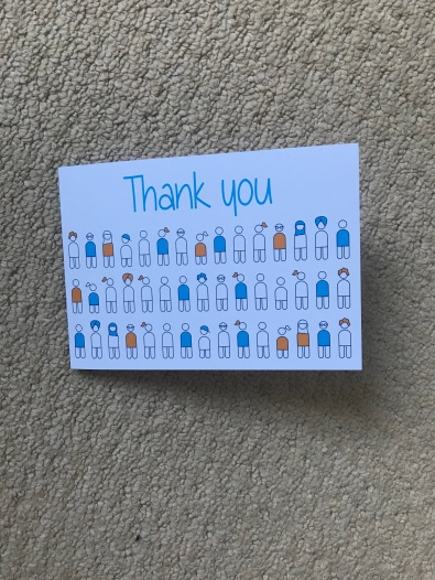 Diabetes UK Thank You Card (1)