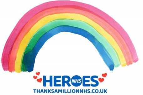 NHS Heroes Rainbow